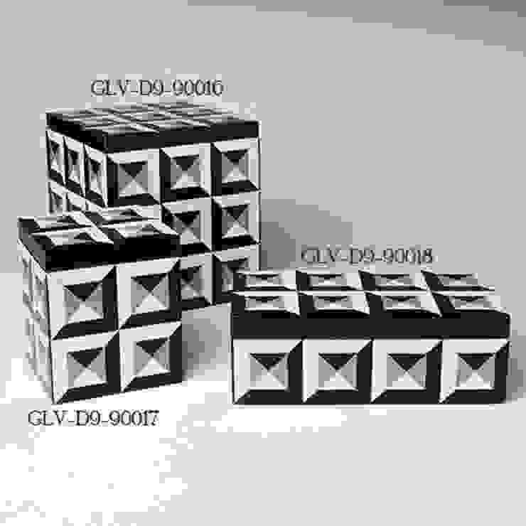 Deco Grenze Schatulle by Global Views Sweets & Spices Dekoration und Möbel WohnzimmerAccessoires und Dekoration