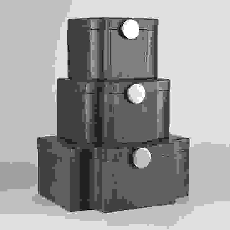 Serpentine Box Grau by Global Views Sweets & Spices Dekoration und Möbel WohnzimmerAccessoires und Dekoration