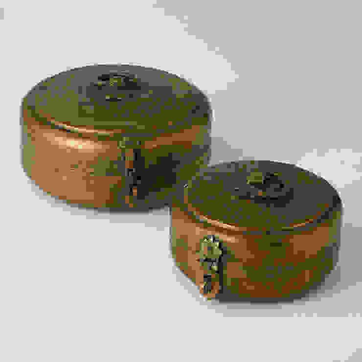 Vintage Chipati Box by Global Views Sweets & Spices Dekoration und Möbel WohnzimmerAccessoires und Dekoration