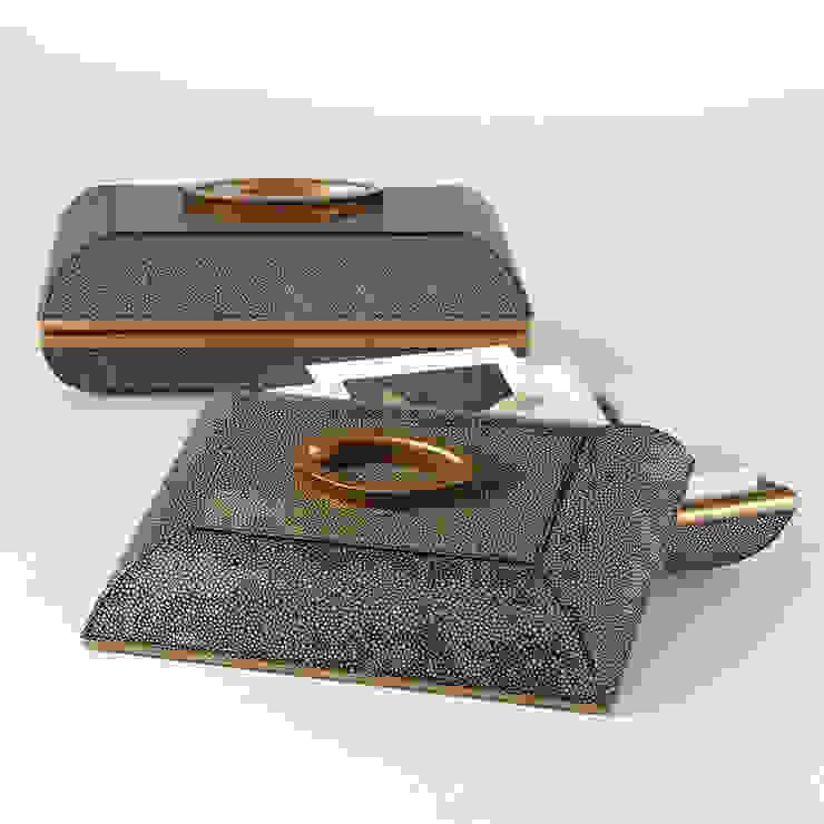 Churchill Box mit Oval Griff Klein by Global Views Sweets & Spices Dekoration und Möbel WohnzimmerAccessoires und Dekoration