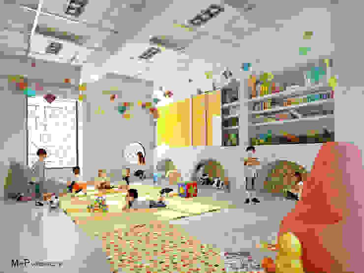 Kindergarten school in Baner by M+P Architects Collaborative