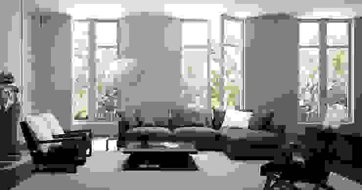Modern style sofa 'LAZY TIME' : SOHOME의 현대 ,모던