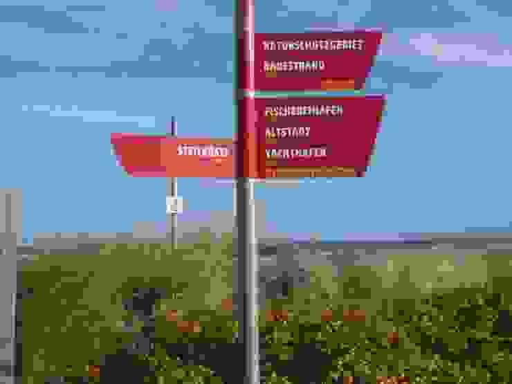 Orientierungssystem in Heiligenhafen von eckedesign