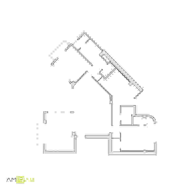 ATICO EN JOAQUIN COSTA Casas de estilo ecléctico de amBau Gestion y Proyectos Ecléctico