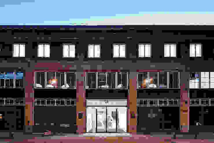 The Guntons Atrium Espaces commerciaux industriels par Hudson Architects Industriel