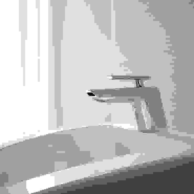 lavabo a cascata _ serie Code di Teorema Rubinetterie