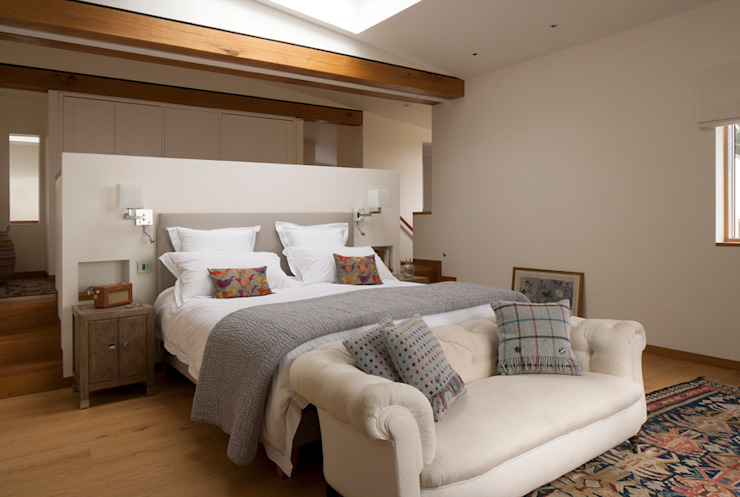 Jersey House Classic style bedroom by Hudson Architects Classic