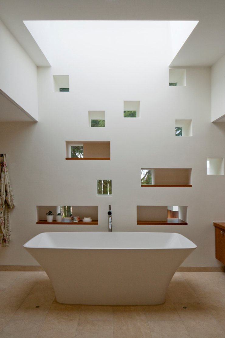Jersey House Modern bathroom by Hudson Architects Modern