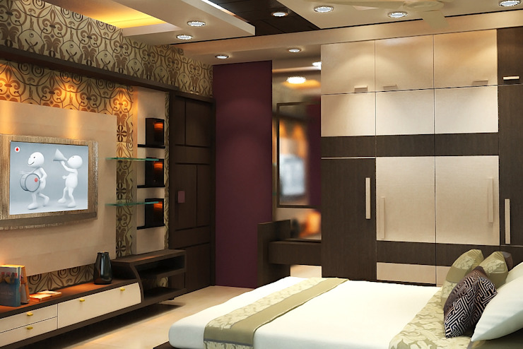 Son's Room: modern  by Effects Decors & Interiors,Modern