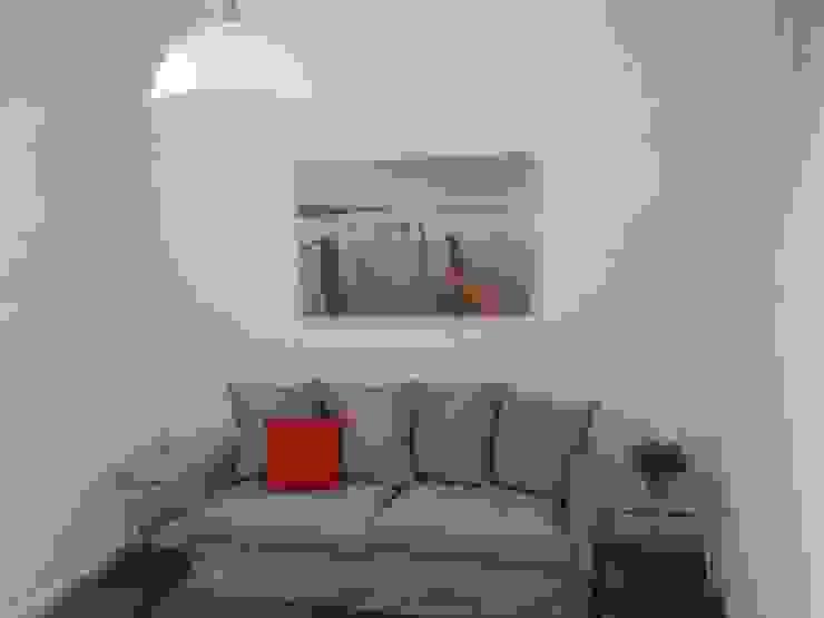Despues. Solucion para un salon sin ventanas de Cinthia Vanderberg