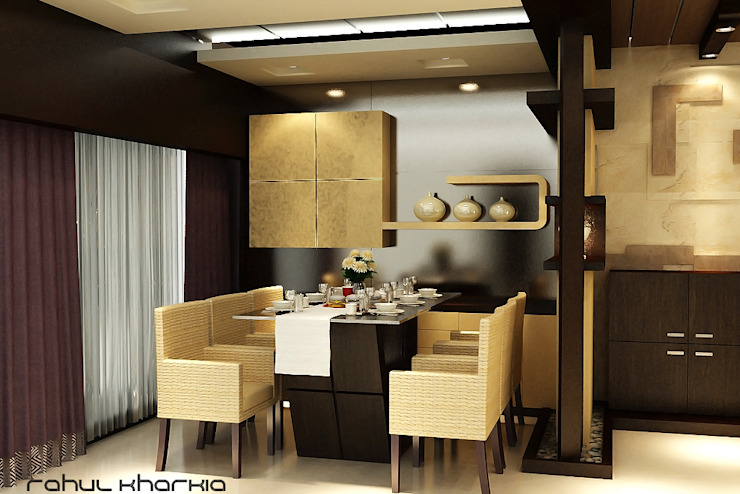 Dining Area: modern  by Effects Decors & Interiors,Modern