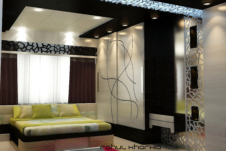 Master Bedroom: modern  by Effects Decors & Interiors,Modern