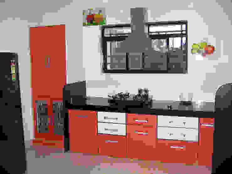 KITCHEN: modern  by 4D The Fourth Dimension Interior Studio,Modern
