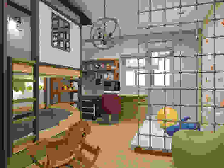 Квартира 120м2 в г. Казань Детская комнатa в стиле минимализм от PlatFORM Минимализм
