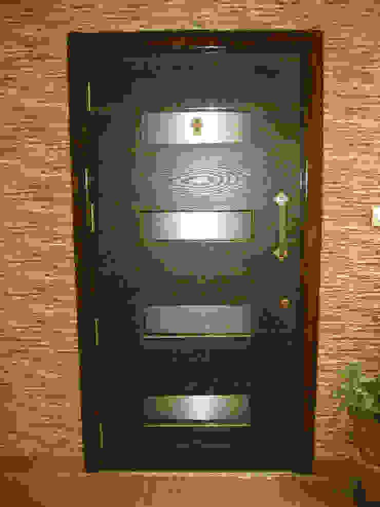 ENTERANCE DOOR: modern  by 4D The Fourth Dimension Interior Studio,Modern