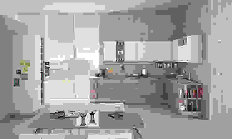 zoe di Creo Kitchens Moderno