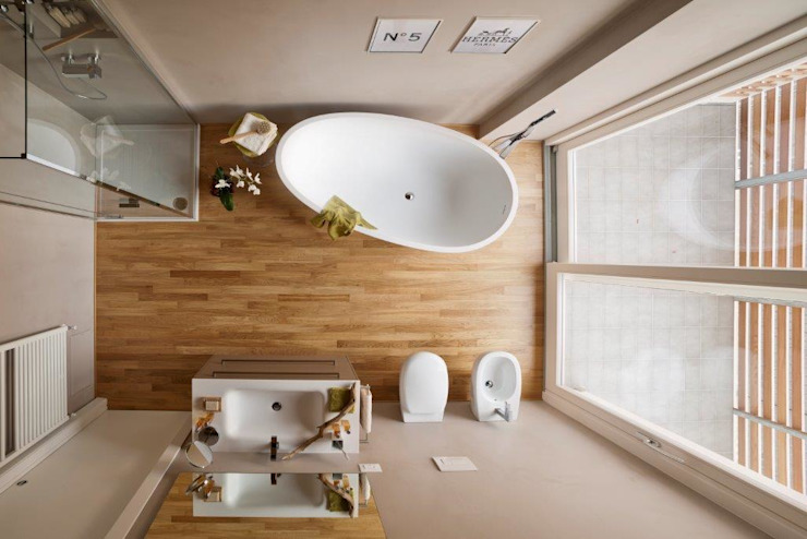 SMART House Case moderne di ARCStudio PERLINI Moderno