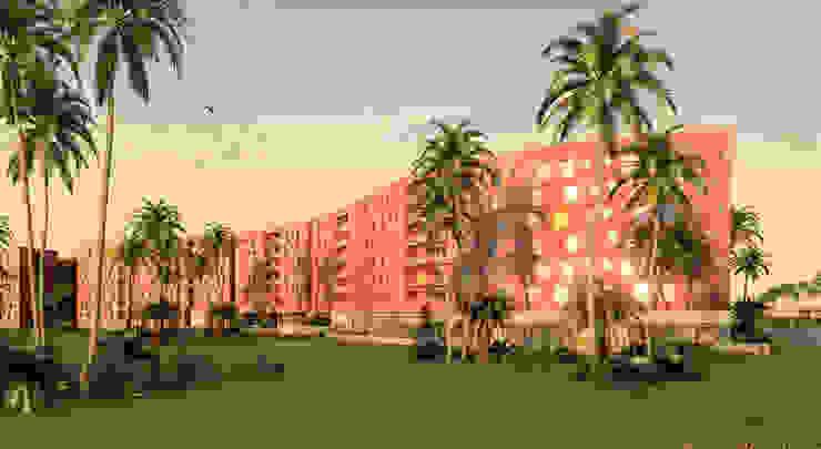 residential de Asenjo y Asociados Moderno