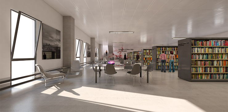 library de Asenjo y Asociados Moderno