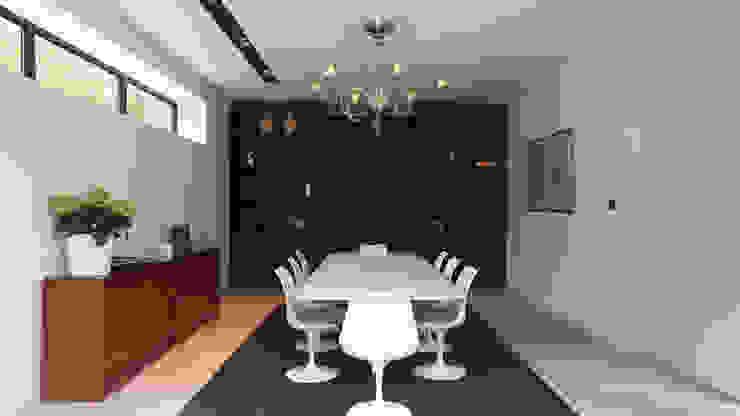 Salle à manger Maisons modernes par MADe Moderne