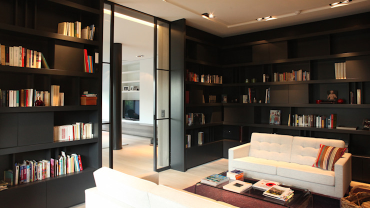 Bibliothèque Maisons modernes par MADe Moderne