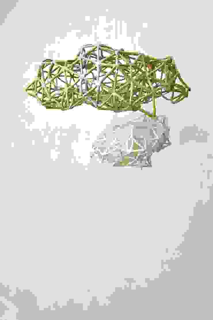 Suspension double Kloud par yfNa Céramique