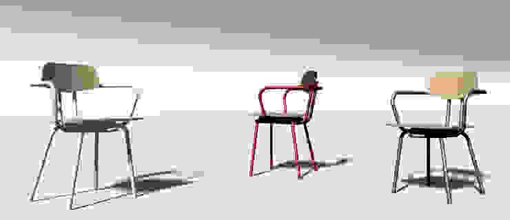Tube Chair: industriell  von Gregor  Faubel Produktdesign,Industrial