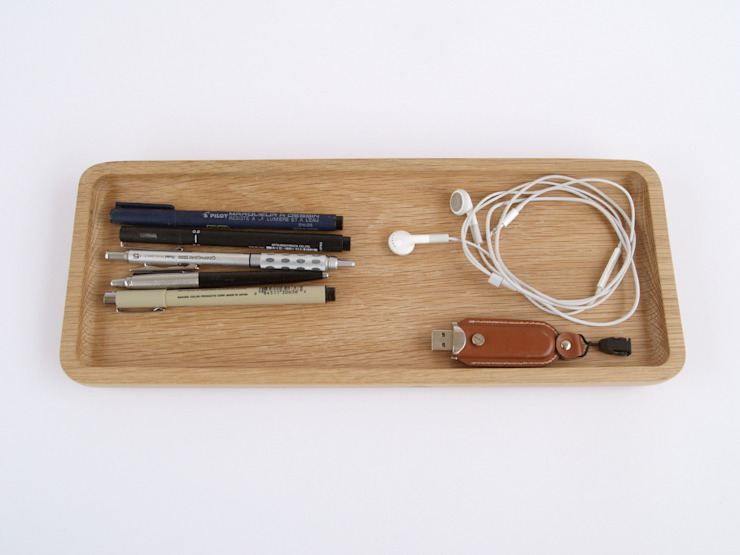 Oak Desk Tidy de Utology Moderno