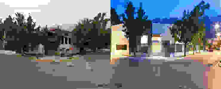 before n after Casas modernas de NZA Moderno