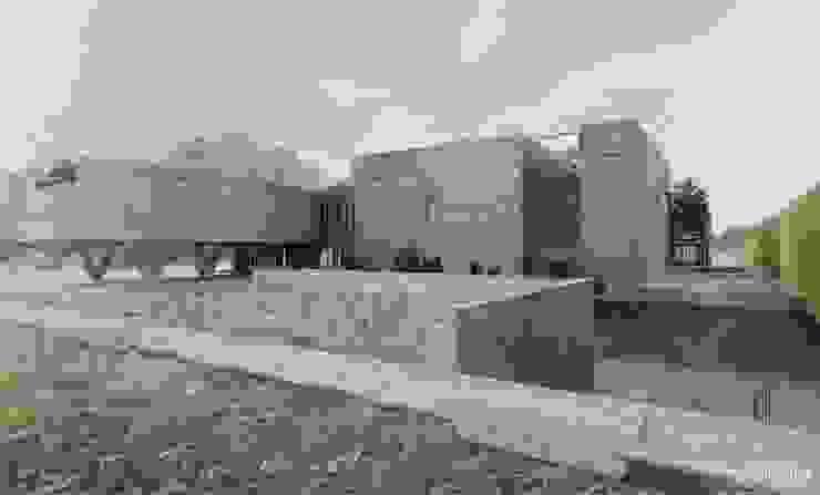 Minimalistische huizen van H+ Architektura Minimalistisch