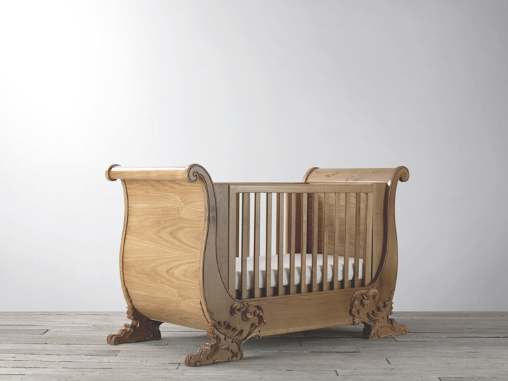 Windsor Oak Cotbed de Adorable Tots Ecléctico