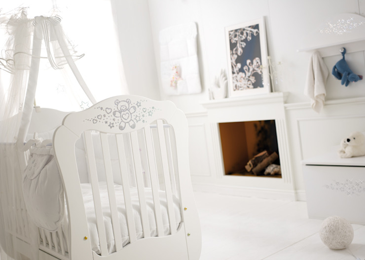 Swarovski Encrusted Cotbed Adorable Tots Nursery/kid's roomBeds & cribs