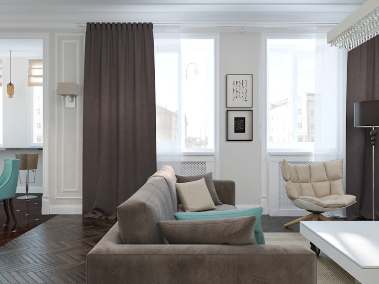 Classic style living room by PlatFORM Classic