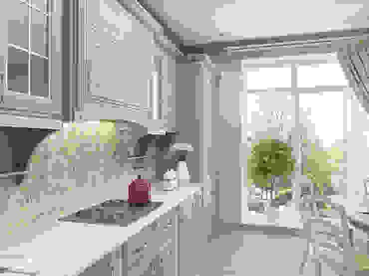 Кухня в загородном доме Кухня в классическом стиле от PlatFORM Классический
