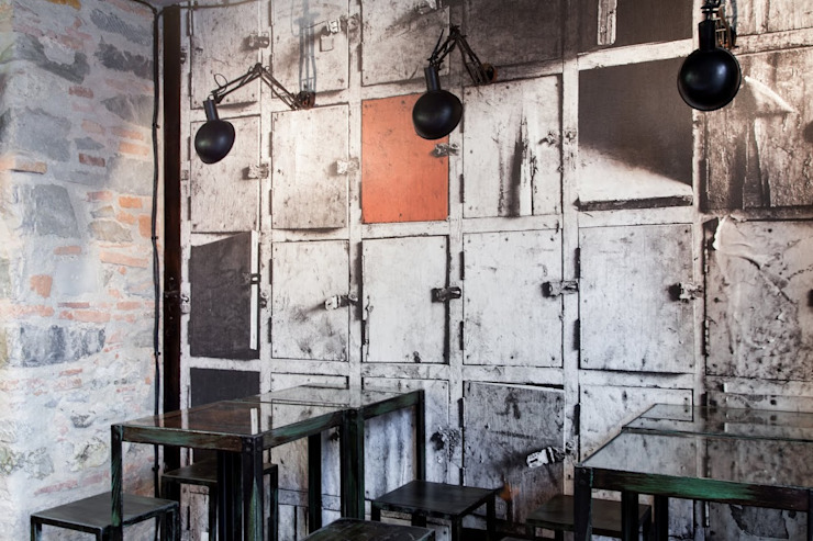 Industrial style bars & clubs by Angelo Sabella Architetto Industrial