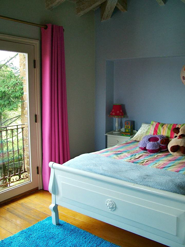 Erika Winters® Design Eclectic style nursery/kids room