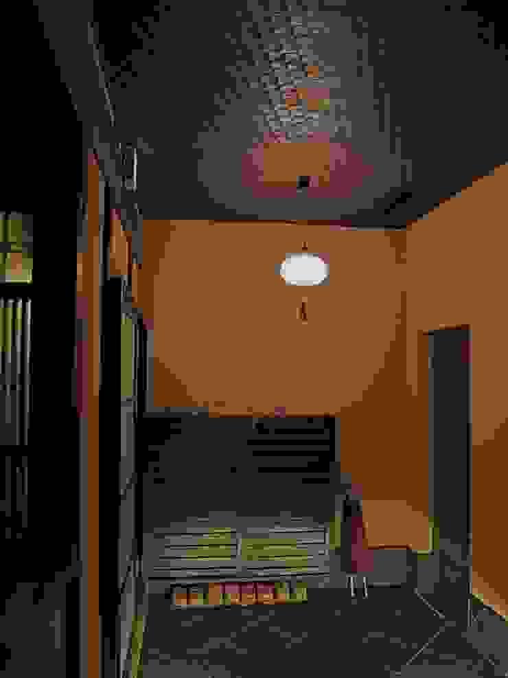 玄関内部 クラシカルスタイルの 玄関&廊下&階段 の 古津真一 翔設計工房一級建築士事務所 クラシック