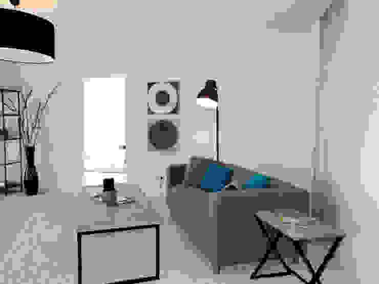 raum² - wir machen wohnen Salas de estilo industrial