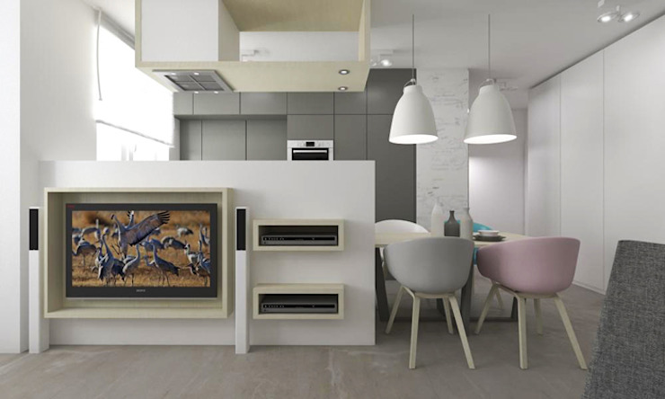 Modern Kitchen by A+A Modern