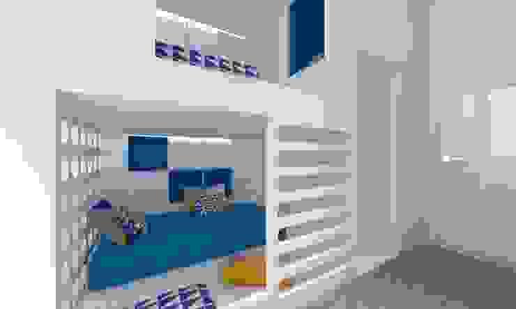 Dormitorios infantiles de estilo moderno de A+A Moderno