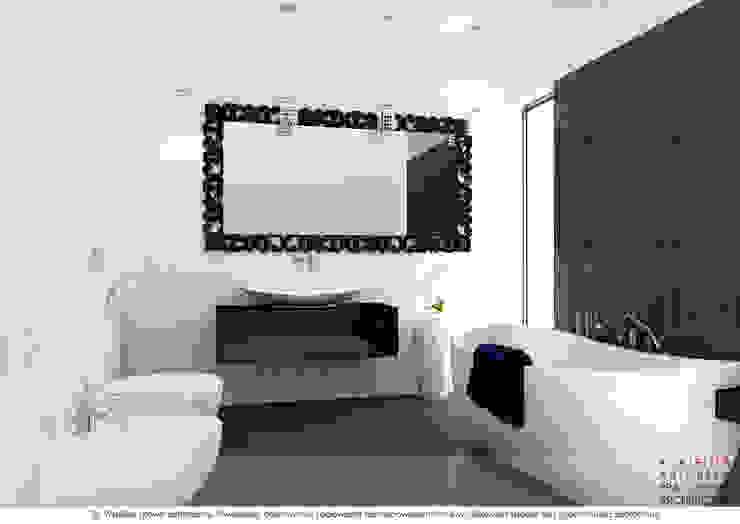 Łazienka Nowoczesna łazienka od A ATELIER, Autorska Pracownia Architektury Artur Turant Nowoczesny