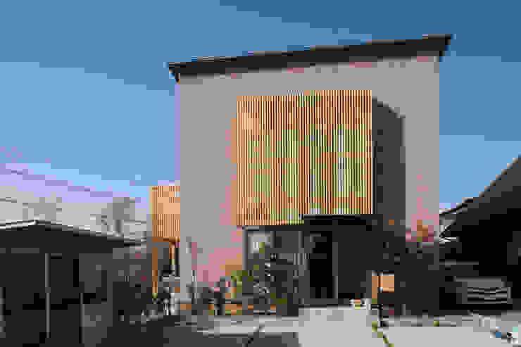 外観 オリジナルな 家 の 稲吉建築企画室 オリジナル