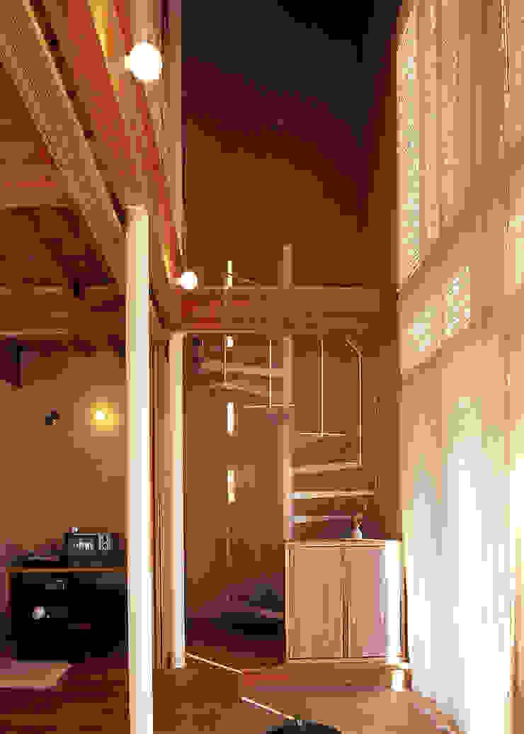 玄関 オリジナルスタイルの 玄関&廊下&階段 の 稲吉建築企画室 オリジナル