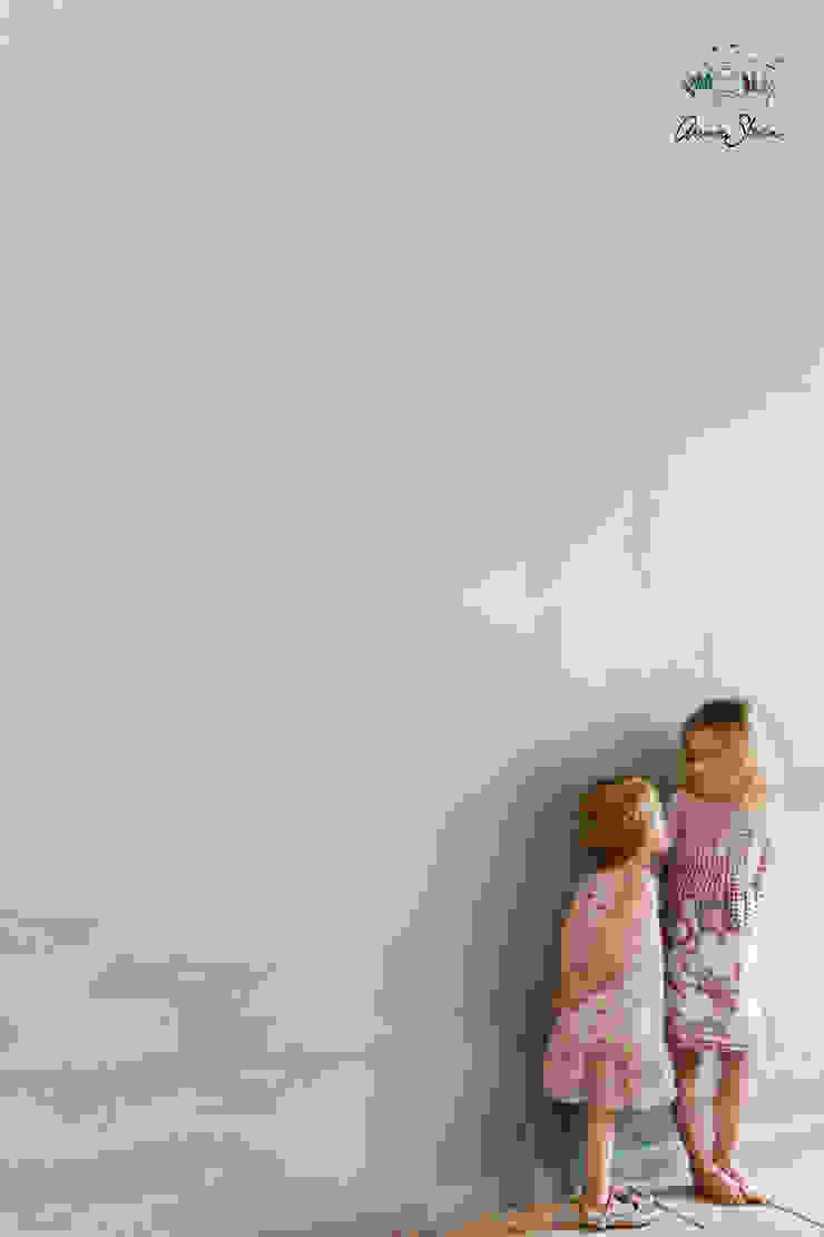 Wall Paint van Annie Sloan, kleur Duck Egg Blue Landelijke badkamers van Bij Sigrid Landelijk