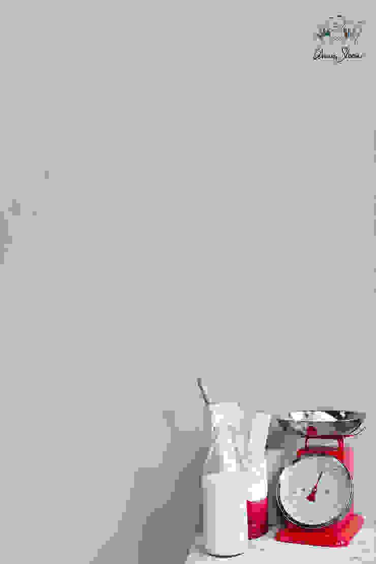 Wall Paint van Annie Sloan, kleur Paris Grey Landelijke muren & vloeren van Bij Sigrid Landelijk