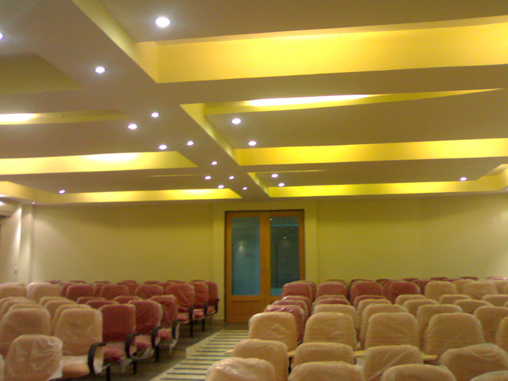 Glass House—Dharmasthala, Classic style media room by Architecture Interior Co. Pvt. Ltd Classic