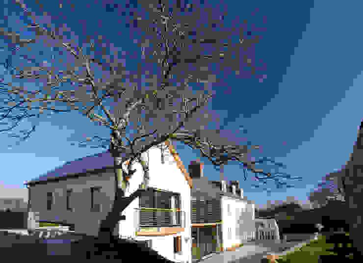 Le Camptrehard JAMIE FALLA ARCHITECTURE Rustieke huizen
