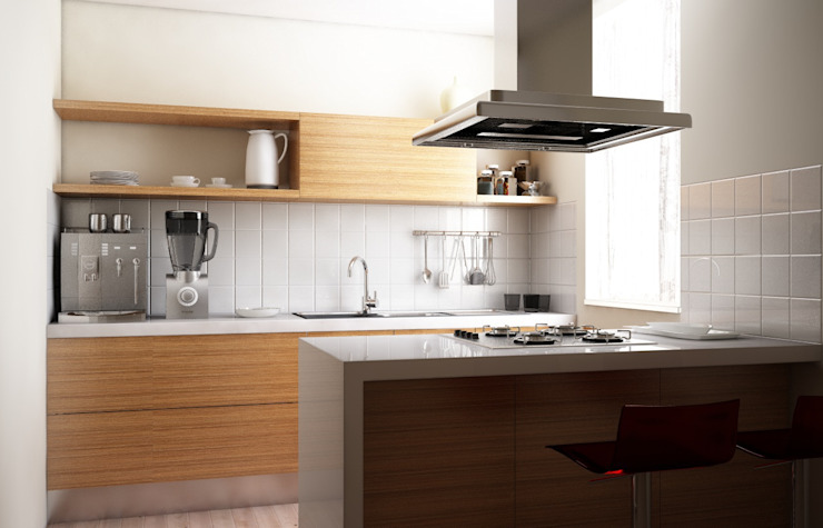 Modern style kitchen by Antonio pellegrino Modern