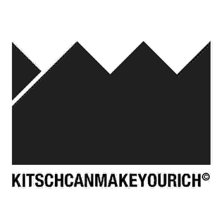Logo KITSCH van KITSCH CAN MAKE YOU RICH Minimalistisch