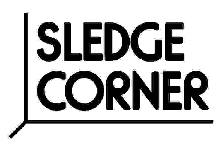 Logo Sledgecorner van KITSCH CAN MAKE YOU RICH Minimalistisch